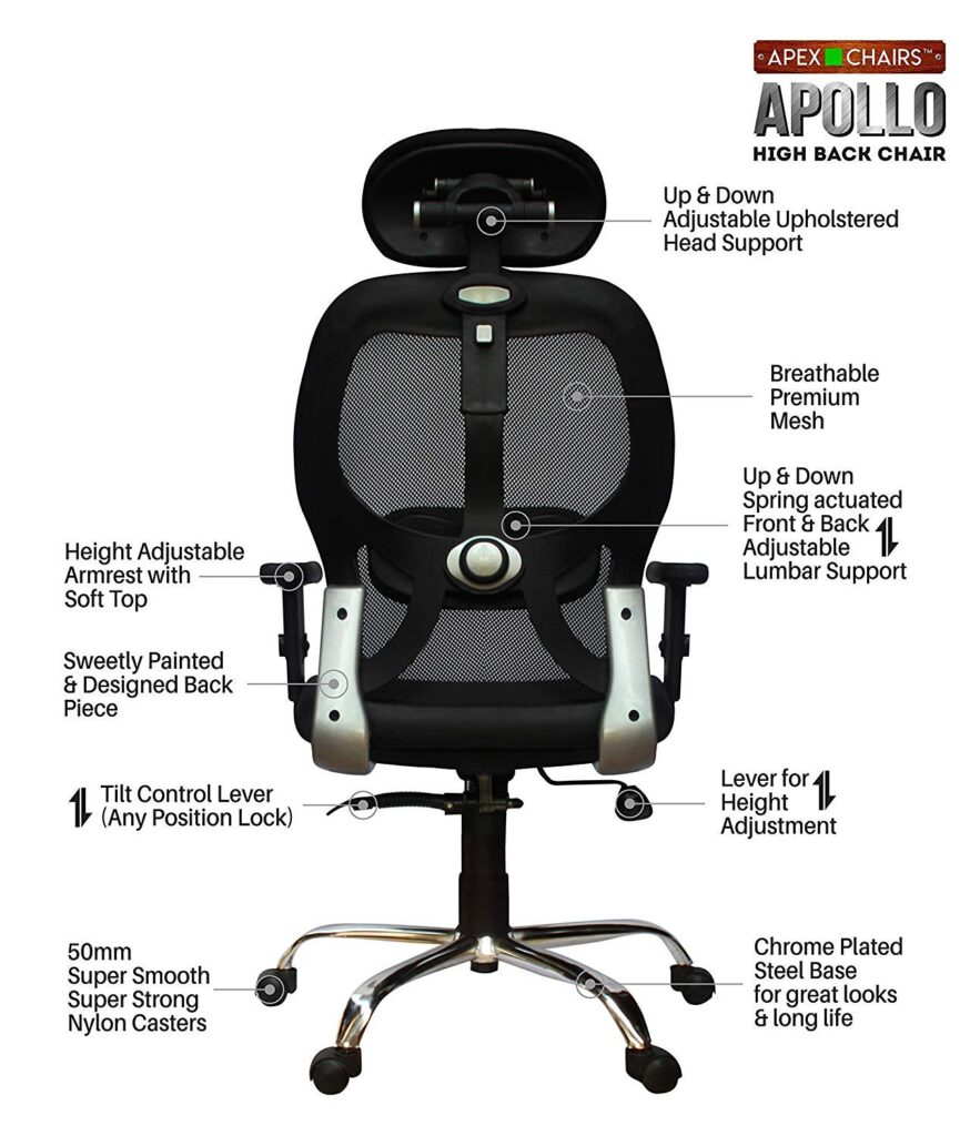 Apex best gaming chair India