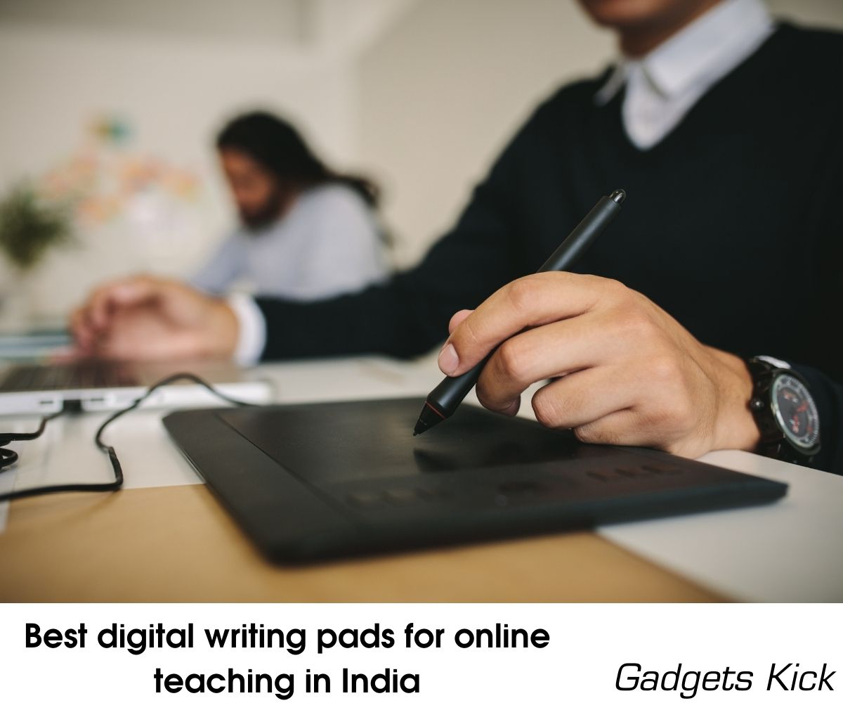 Best digital writing pads for online teaching in India