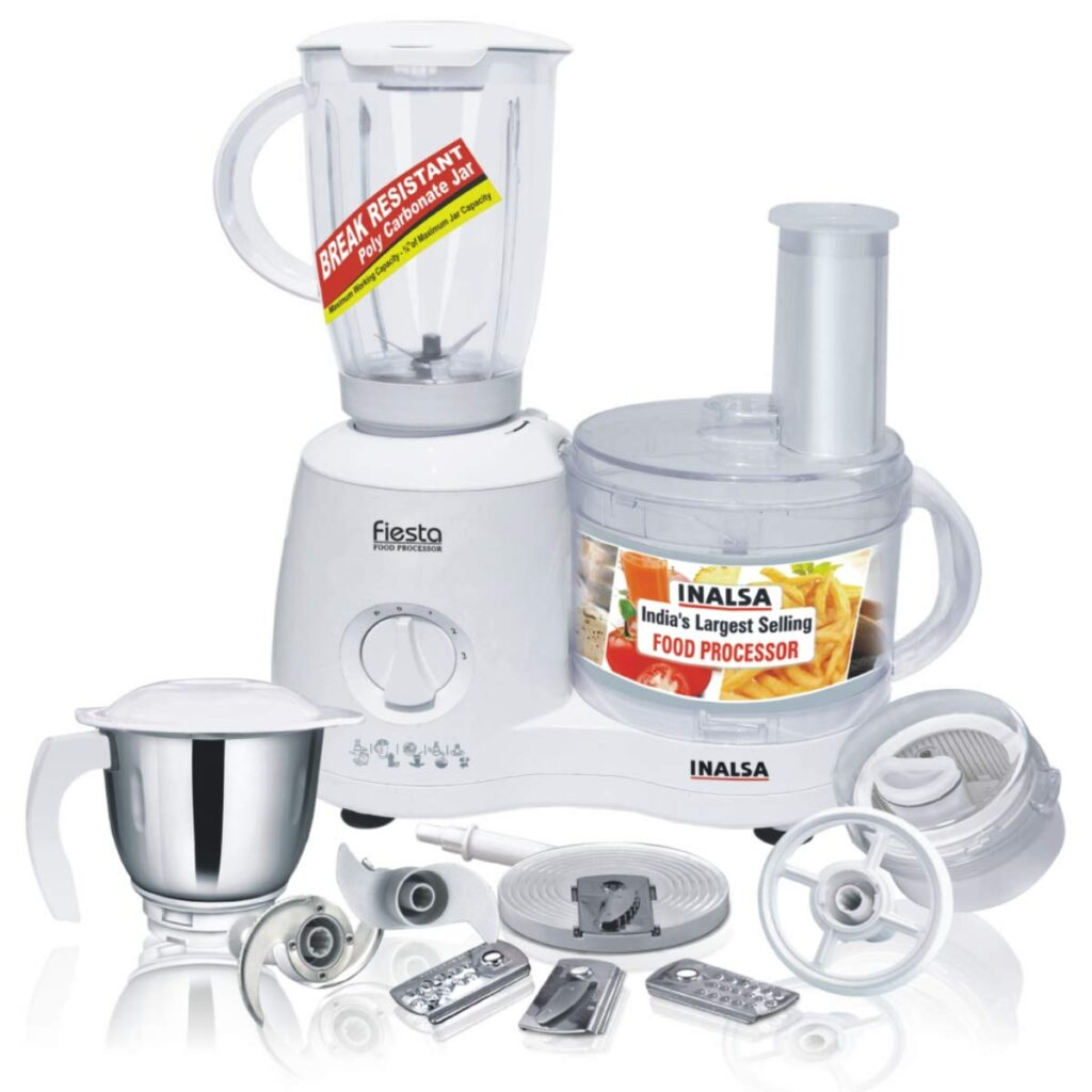 Inalsa best food processor for Indian cooking